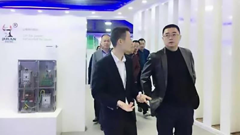 柳市镇党委书记莅临指导